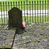 Oak Grove Cemetery Repositioning Flags after Hurricane Hermine on 09-02-16