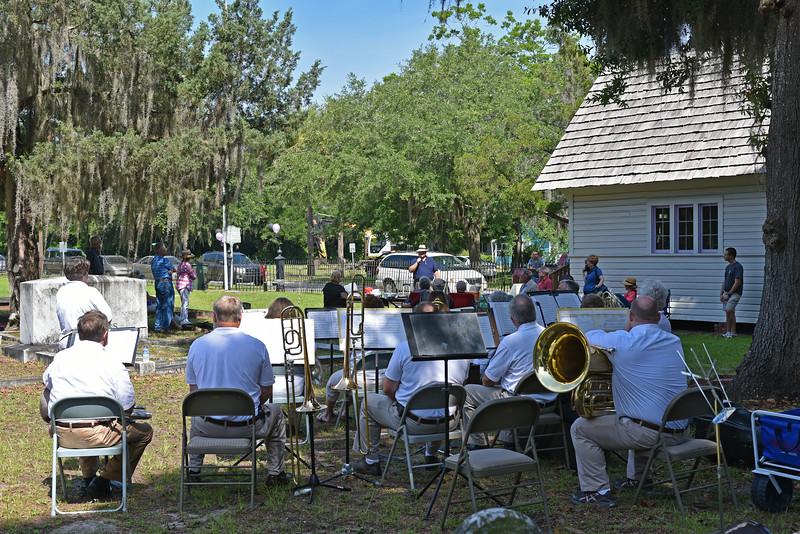 Oak Grove Cemetery Society Bollard Dedication 06-06-15