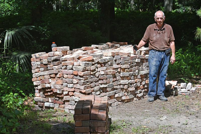 Bricks donated to Oak Grove Cemetery Society 1830 bricks at 9,150 pounds 05-08-15