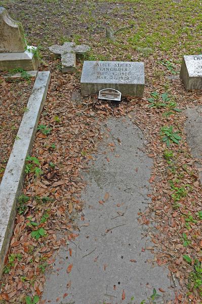 Oak Grove Cemetery DuBignon Plot 08-03-09