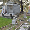 Oak Grove Cemetery - Broken Monument Clarinda Harriet G 09-19-19