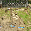 Unknown Grave Unearthed at Oak Grove Cemetery by OGCS 08-11-18