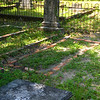 Unknown Grave in Dent Plot at Oak Grove Cemetery by OGCS 08-11-18