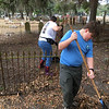 Oak Grove Cemetery Society - Brunswick, Georgia - Cleanup Day - 01-14-17