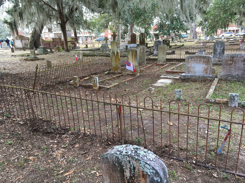 Oak Grove Cemetery Society - Brunswick, Georgia - Cleanup Day - 01-14-17