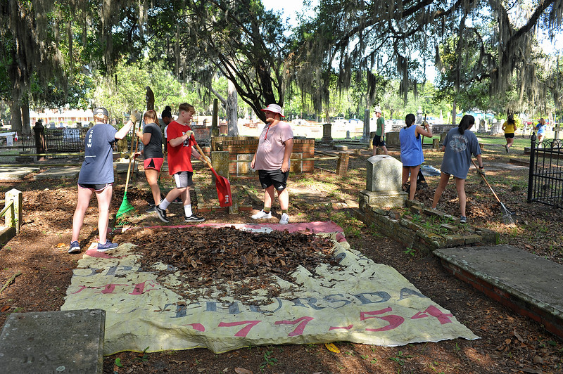 OGCS with Keep Golden Isles Beatiful and the Gathering Place Cleanup 07-15-19