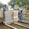 Oak Grove Cemetery Society - Brunswick, Georgia - Cleanup Day 3 - Nightingale Plot 01-12-19