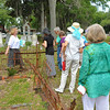 Oak Grove Cemetery Society's Educational Tour headed by Guynel Johnson explaining Lilies, Rosebuds, Secret Societies and Lambs in Brunswick, Georgia 06-14-14