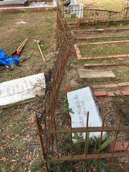 Oak Grove Cemetery in Brunswick, Georgia 11-12-16