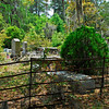 04-25-07 Thomas Spalding's family cemetery plot in McIntosh County. A downed limb has shattered memorials, and graves and plot are in need of repair. Caretakers are trying to maintain the plot as best they can with very little funds - please give to Ashantilly!.