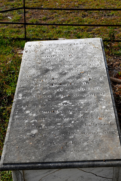Brailsford - Maria Eugenia Brailsford - age 35 - d.1838 - wife of John G. Bell
