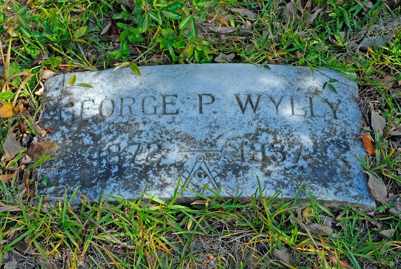 Wylly - George P. Wylly b.1872 d.1937 (Mason)