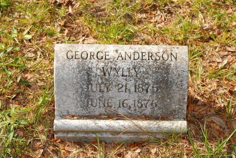 Wylly - George Anderson Wylly b.1875 d.1876