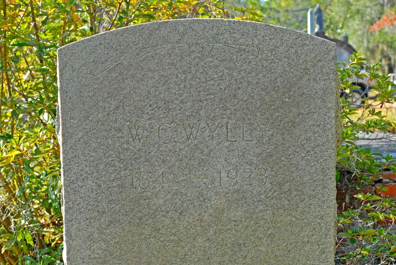 Wylly - W. C. Wylly b.1842 d.1923