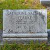 Clarke - Catherine Valeria Clarke b.1931 d.1951