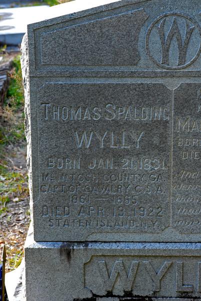 Wylly - Thomas Spalding Wylly b.1831 d.1922 (CSA)