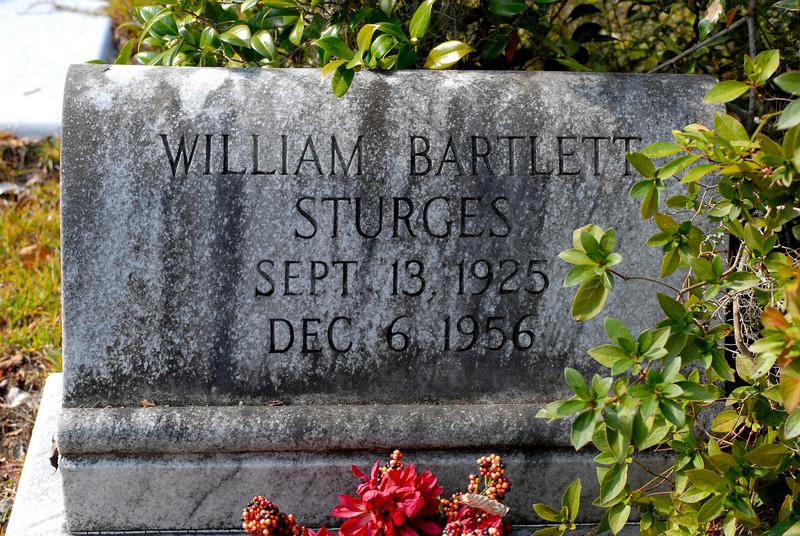 Sturges - William Bartlett Sturges b.1925 d.1956
