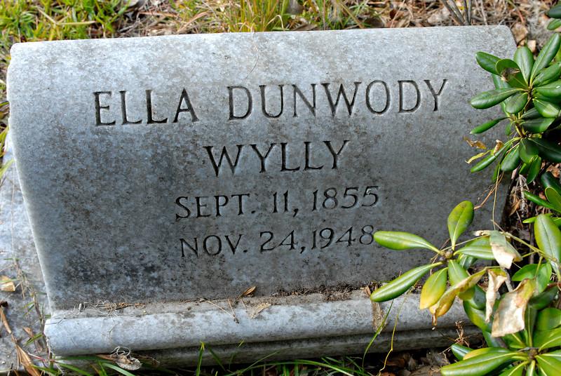 Wylly - Ella Dunwody Wylly b.1855 d.1948
