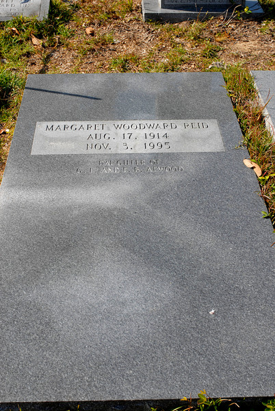 Reid - Margaret Woodward Reid b.1914 d.1995 - daughter of G.E. and E.B. Atwood