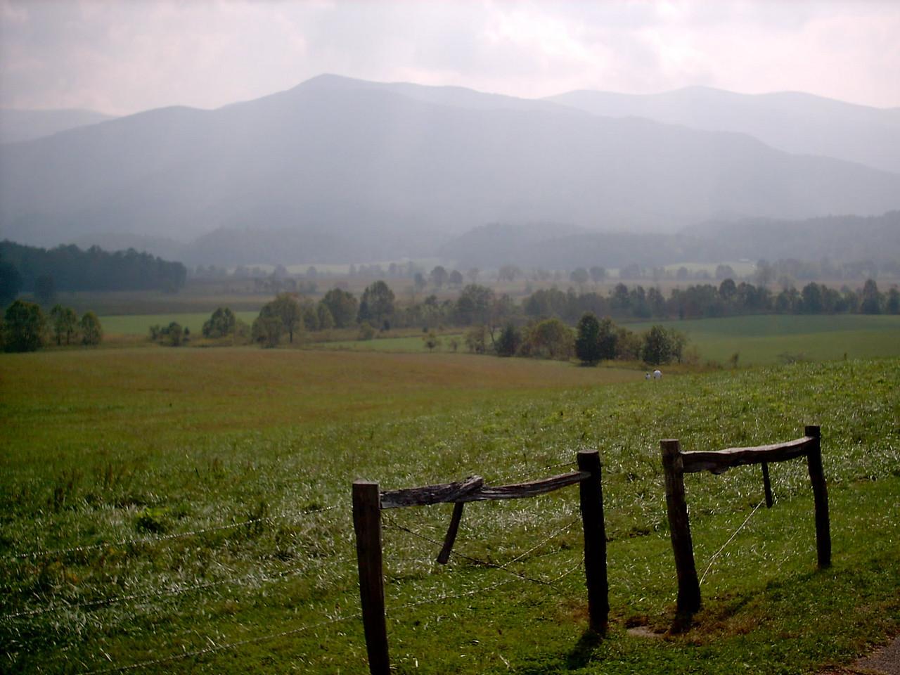 Farmland & Mountains
