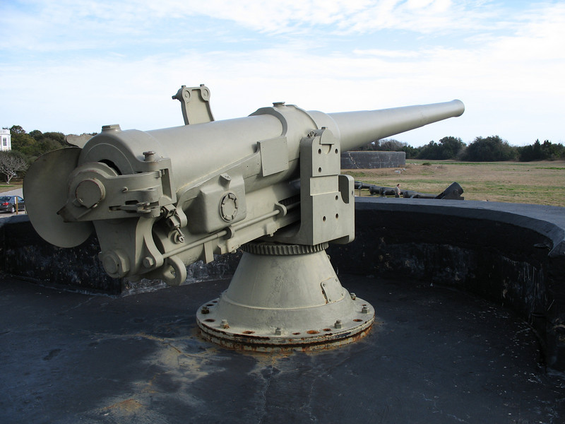 Fort Moultrie - Battery Bingham Cannon