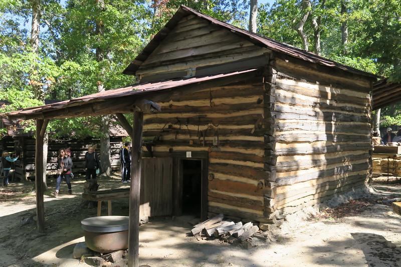 35. Tobacco Barn -- ca. 1800's