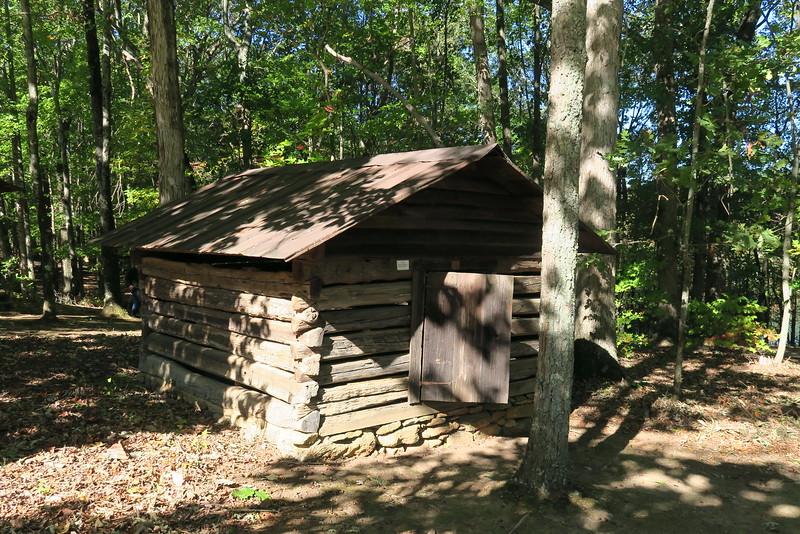 1.  Log Outbuilding -- ca. 1800's