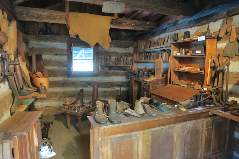 22. Shoemaker Shop (interior) -- ca. mid-1800's