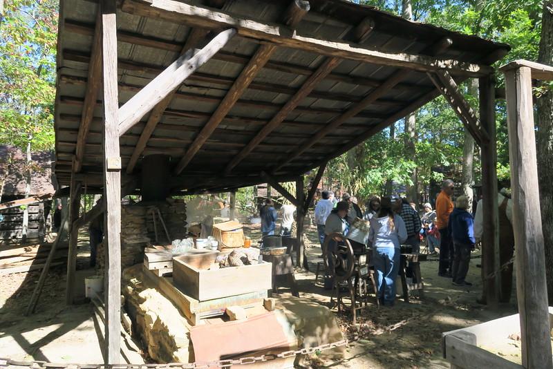 40. Molasses Mill & Boiler Shed