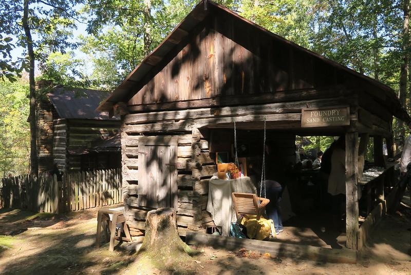 67. Bowman Corn Crib & Shed -- ca. 1800