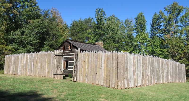 98. Stockade -- ca. Late 1700's