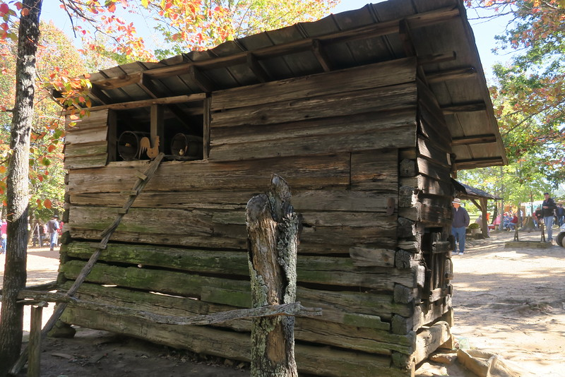 42. Wallace Corn Crib/Chicken Coop -- ca. 1800's