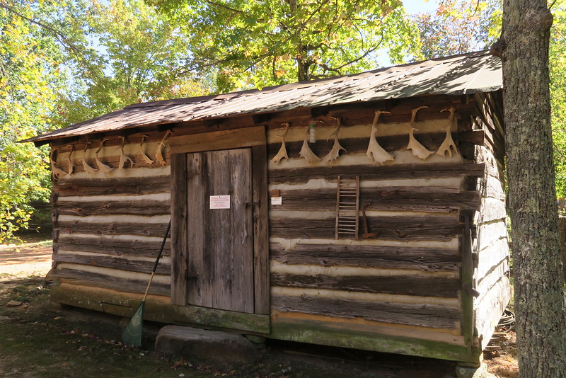 48. Log Utility Building -- ca. 1800's