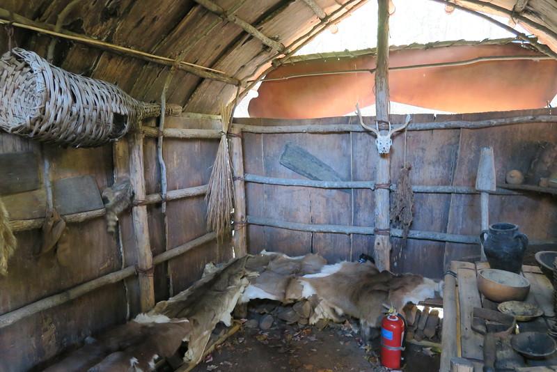 93. Native American Longhouse -- replica