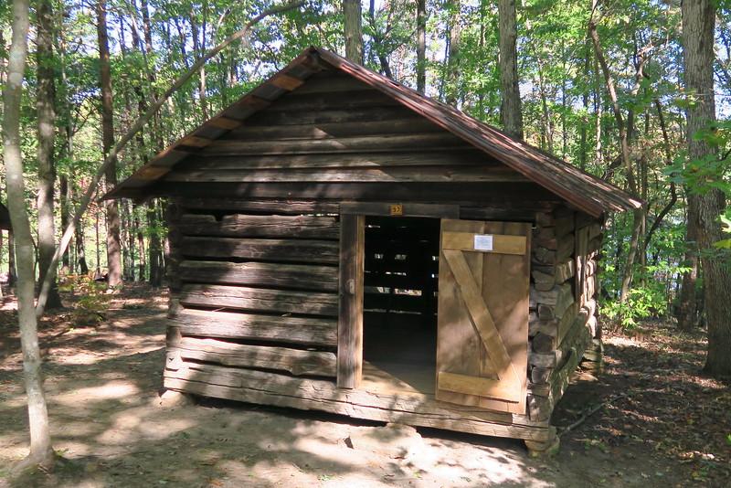 97. Log Tack House -- ca. 1850