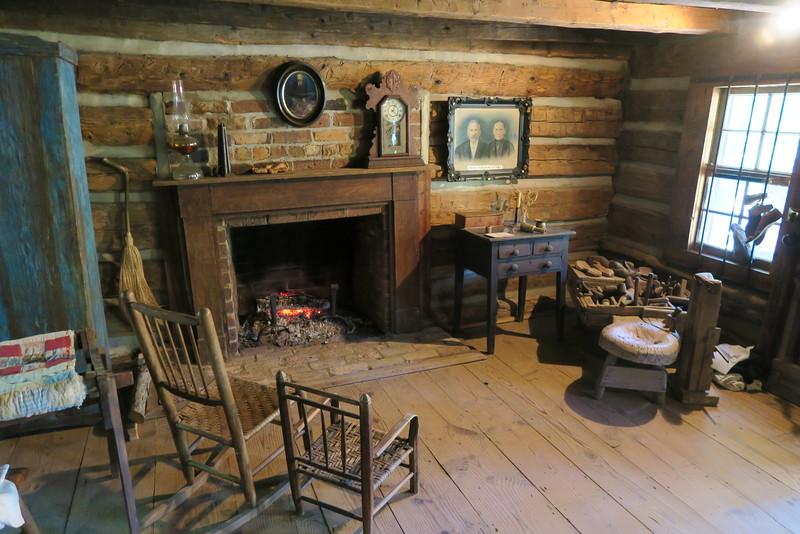 70. Punch-Seitz House (interior) -- ca. 1840