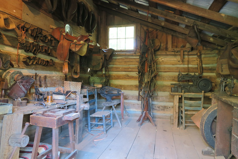 72. Saddle Shop (interior) -- ca. 1850