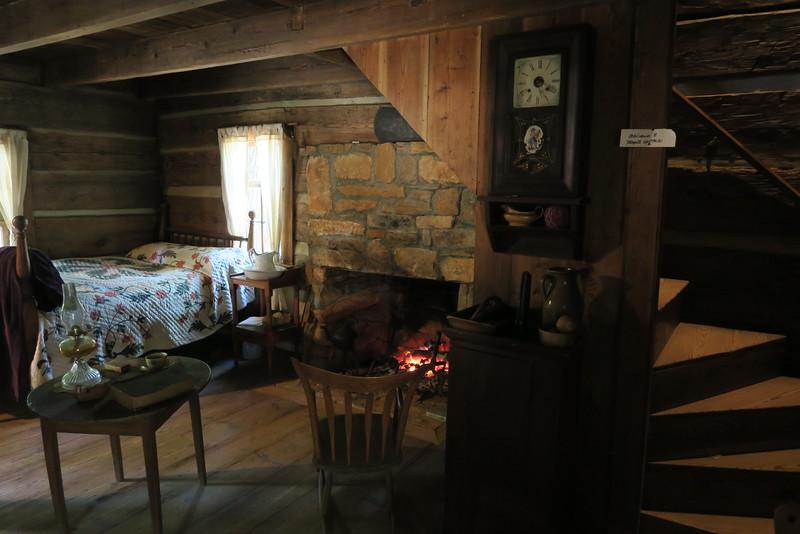 64. Stroup House (interior) -- ca. 1850