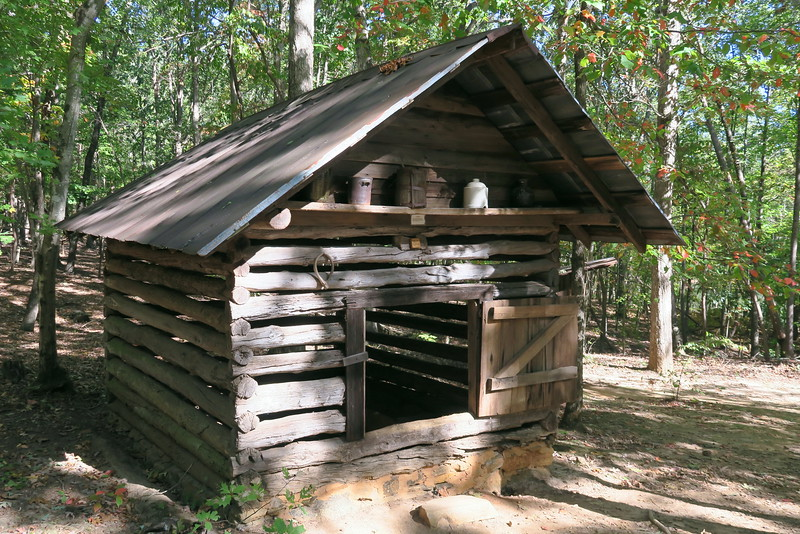 84. Log Outbuilding -- ca. Late 1800's