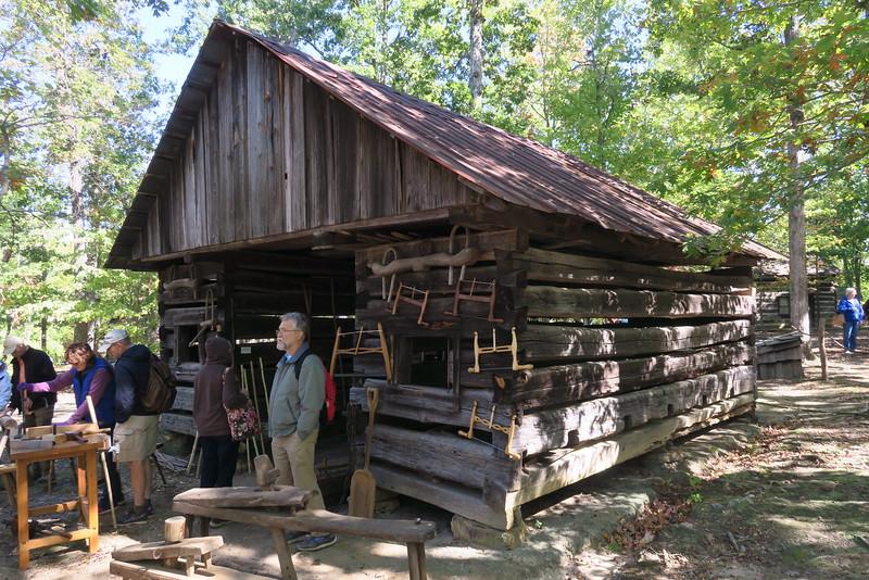 34. Twin Crib Barn -- ca. 1850