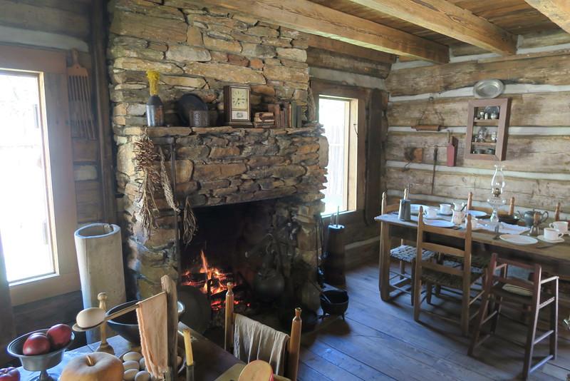 99. Lowman-Davis Cabin -- ca. 1820