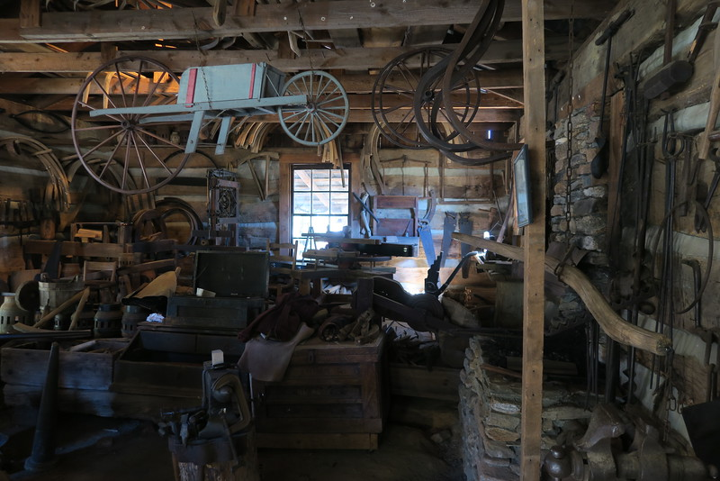 57. Wheelwright Shop (interior) -- ca. 1800
