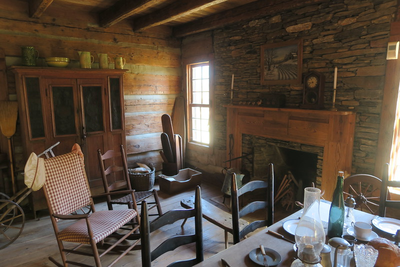 51. Deitz House (interior) -- ca. 1790-1820
