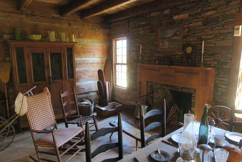 51. Deitz House (interior) -- ca. 1790-1820