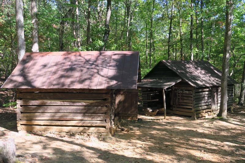 (80.) Utility Barn & (81.) Smoke House -- ca. 1800's