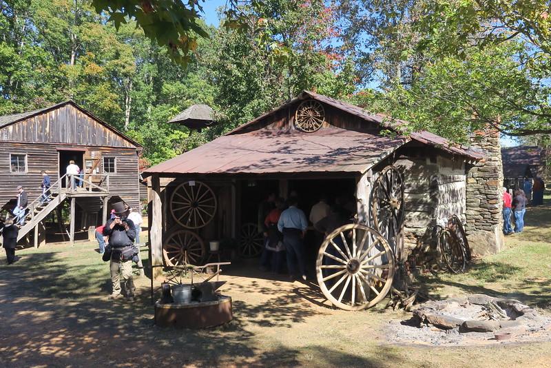57. Wheelwright Shop -- ca. 1800