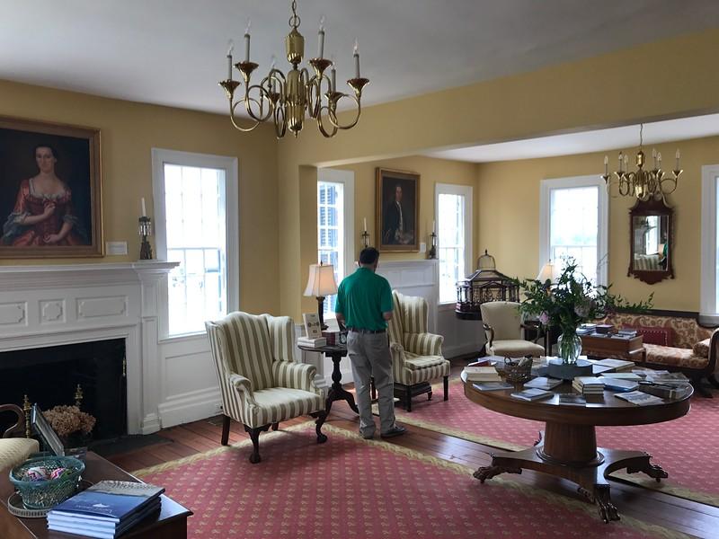 Penelope Barker House (ca. 1782) -- Interior