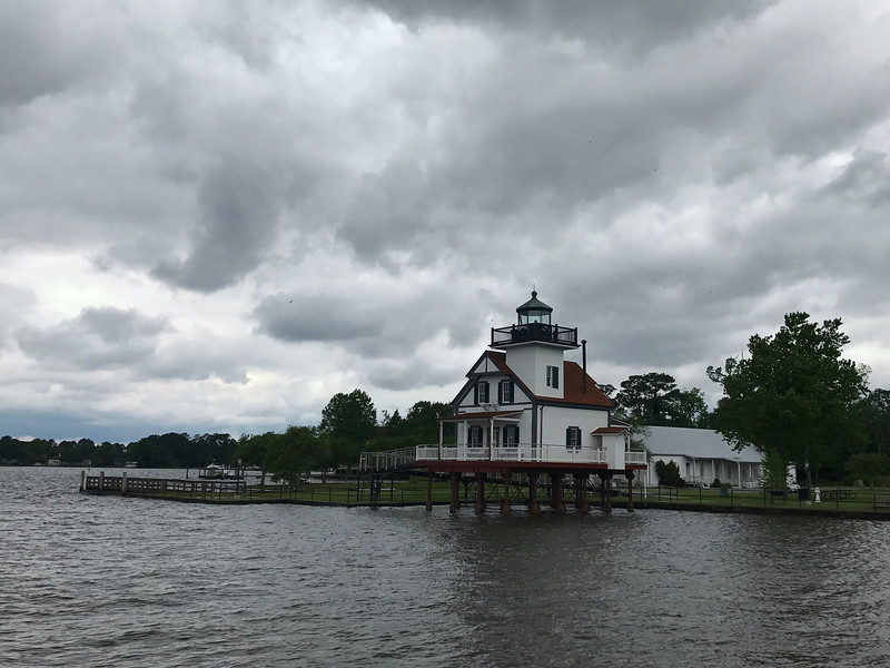Roanoke River Lighthouse (ca. 1887)