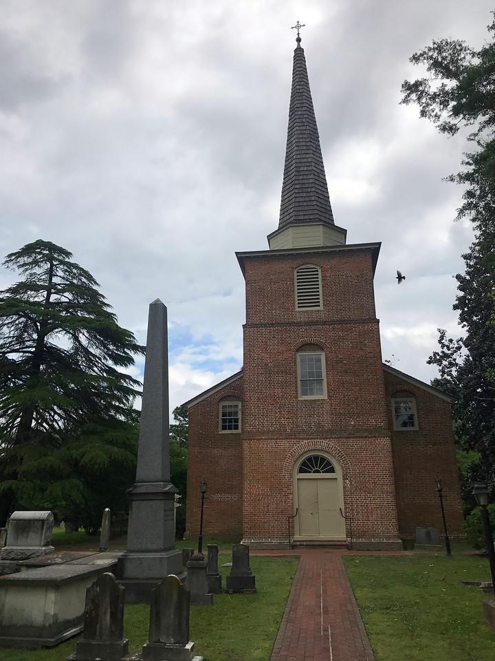 St. Paul's Episcopal Church (ca. 1736)