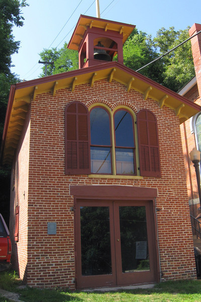 <i>Old Firehouse #1 (ca. 1851)</i>